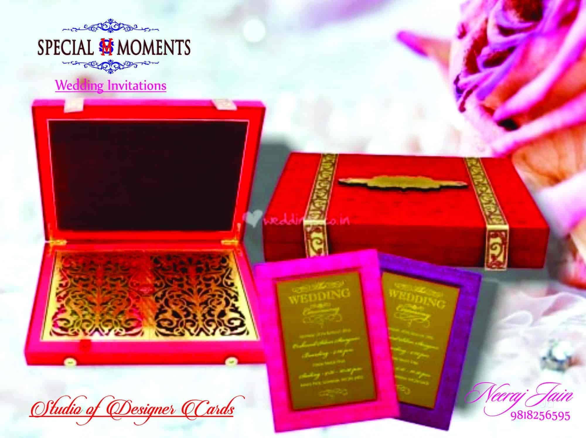 Special Moments Chawri Bazar Wedding Card