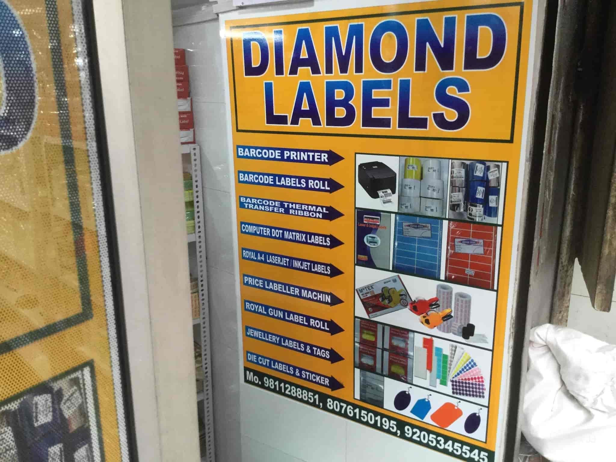 Diamond Lables And Sationers, Nai Sarak - Sticker