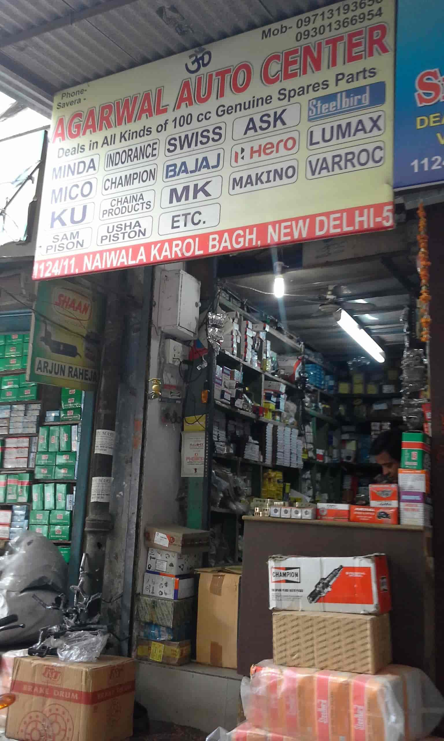 Agarwal Auto Centre Karol Bagh Automobile Part Dealers In Delhi