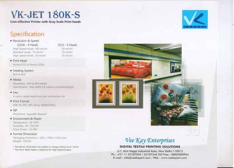Vee Kay Enterprises Photos, Kirti Nagar, Delhi- Pictures