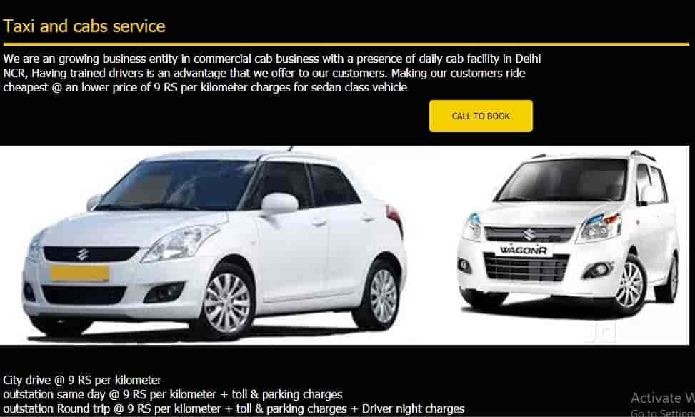 Suvidha Cabs N Taxi Services Indirapuram Taxi Services In