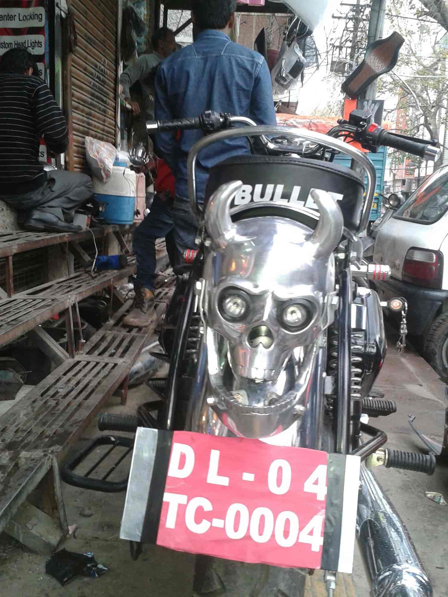 Golden Bikes, Karol Bagh - Car Customization Services in