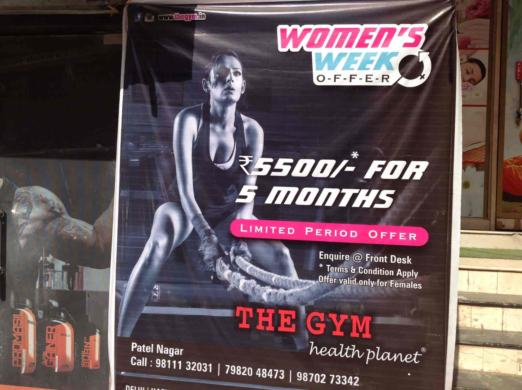 The Gym Health Planet - Gyms - Book Appointment Online