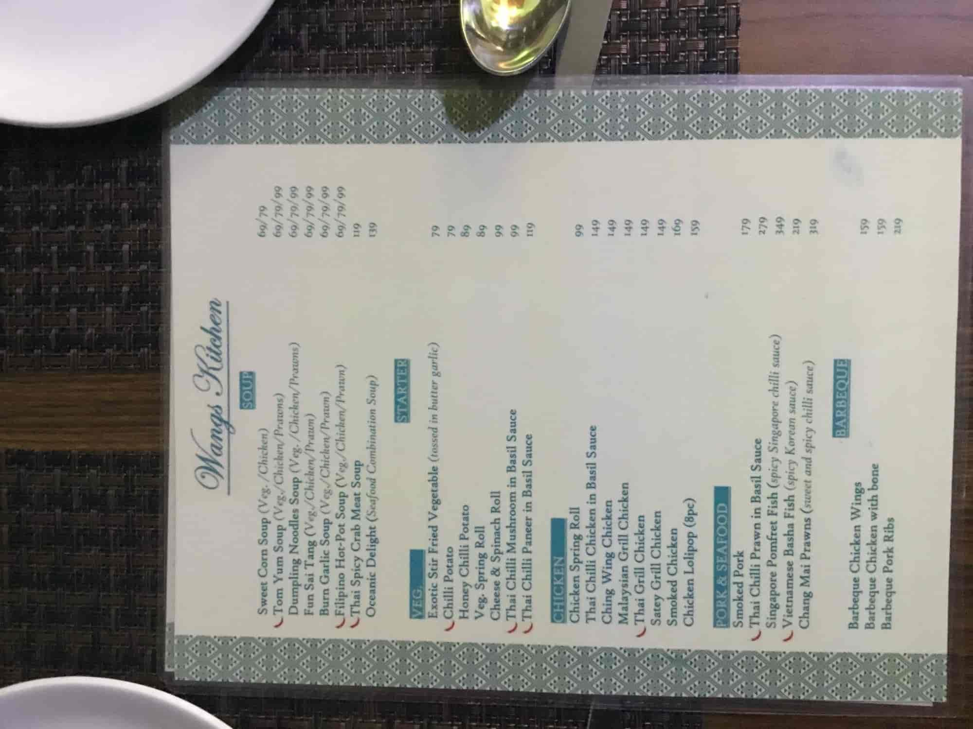 Wangs Kitchen (Closed Down), Indra Vihar, Delhi - Chinese Cuisine ...