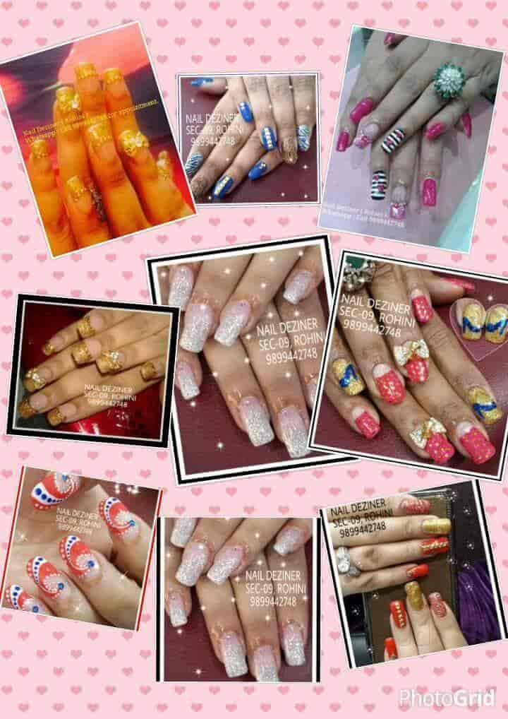 Nail Art And Nail Extension Photos Rohini Sector 9 Delhi Pictures