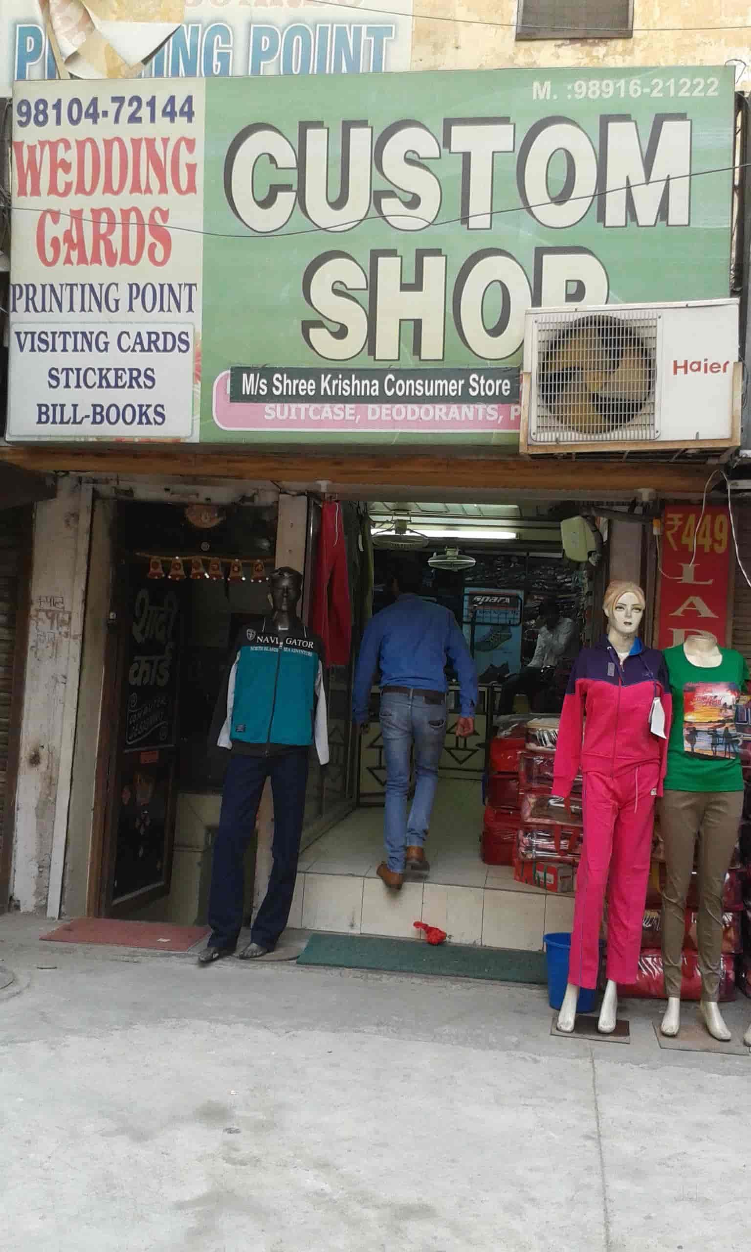 fc4f9075c8f ... Front View of Shop - Custom Clothes Shop Photos