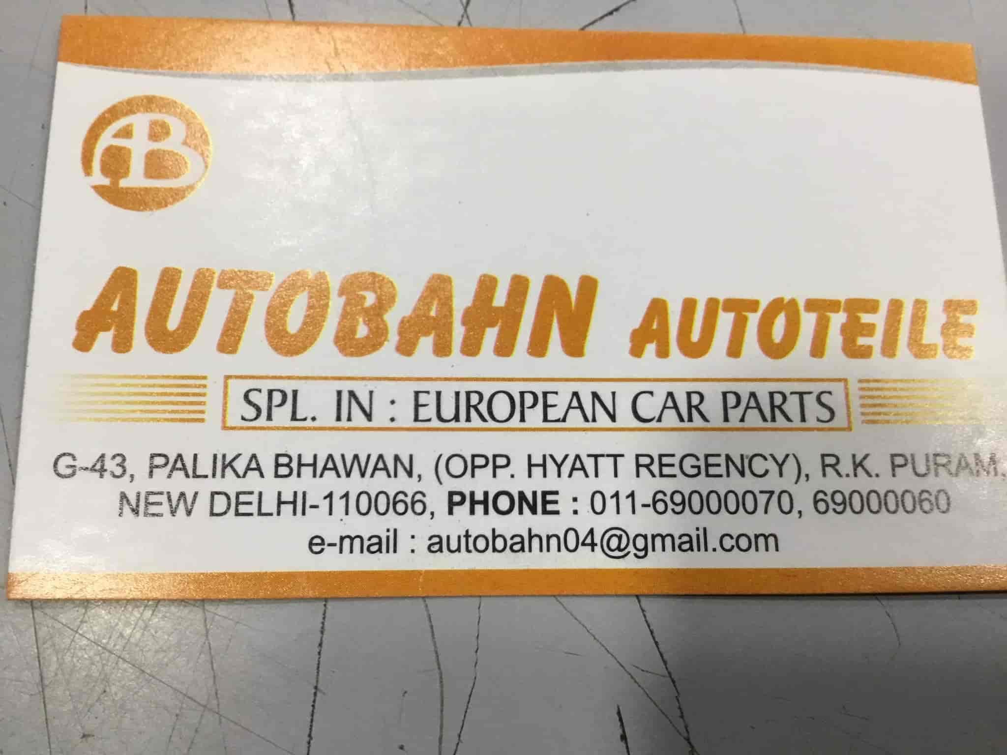 Autobahn Autoteile Photos, R K Puram West, Delhi- Pictures & Images ...