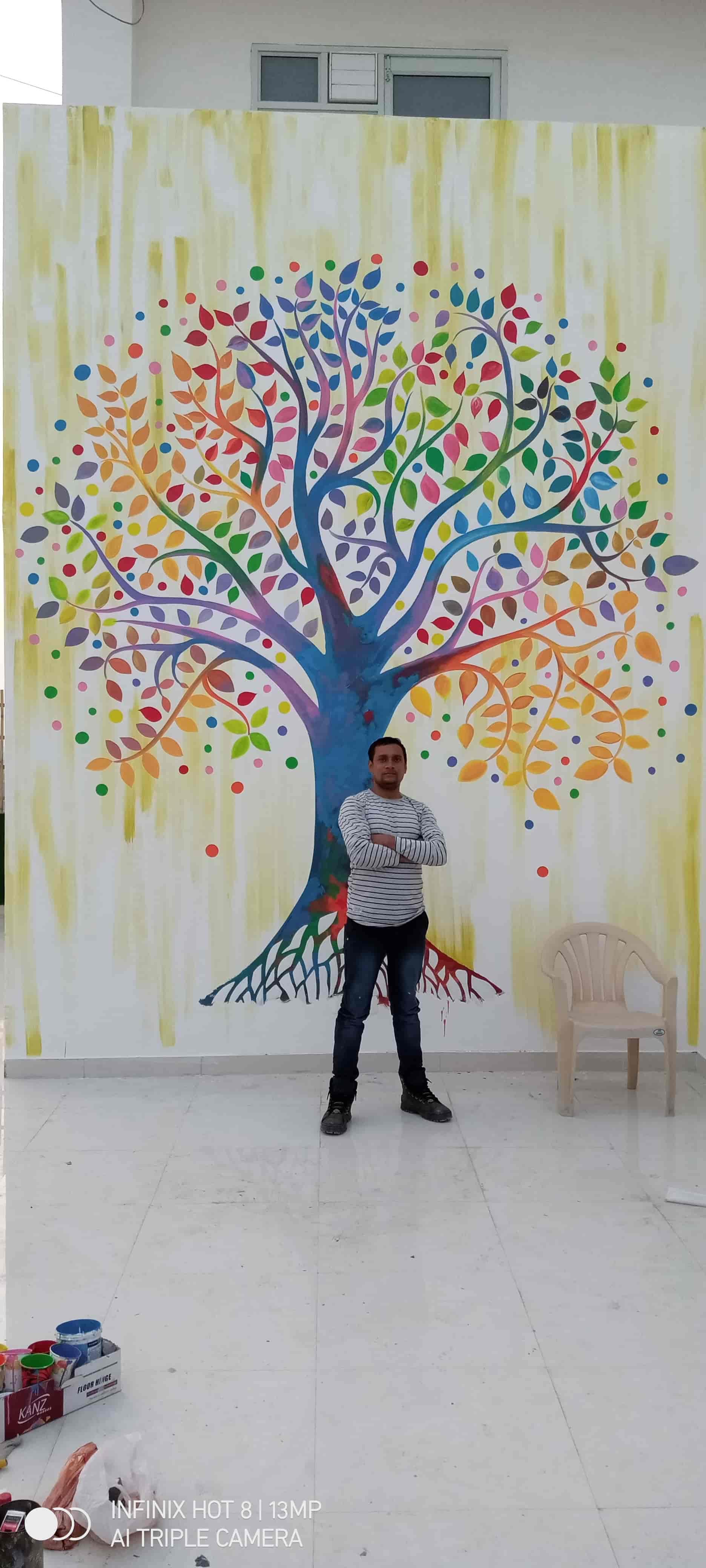 Painter Heera Noida Graffiti Artists In Noida Delhi