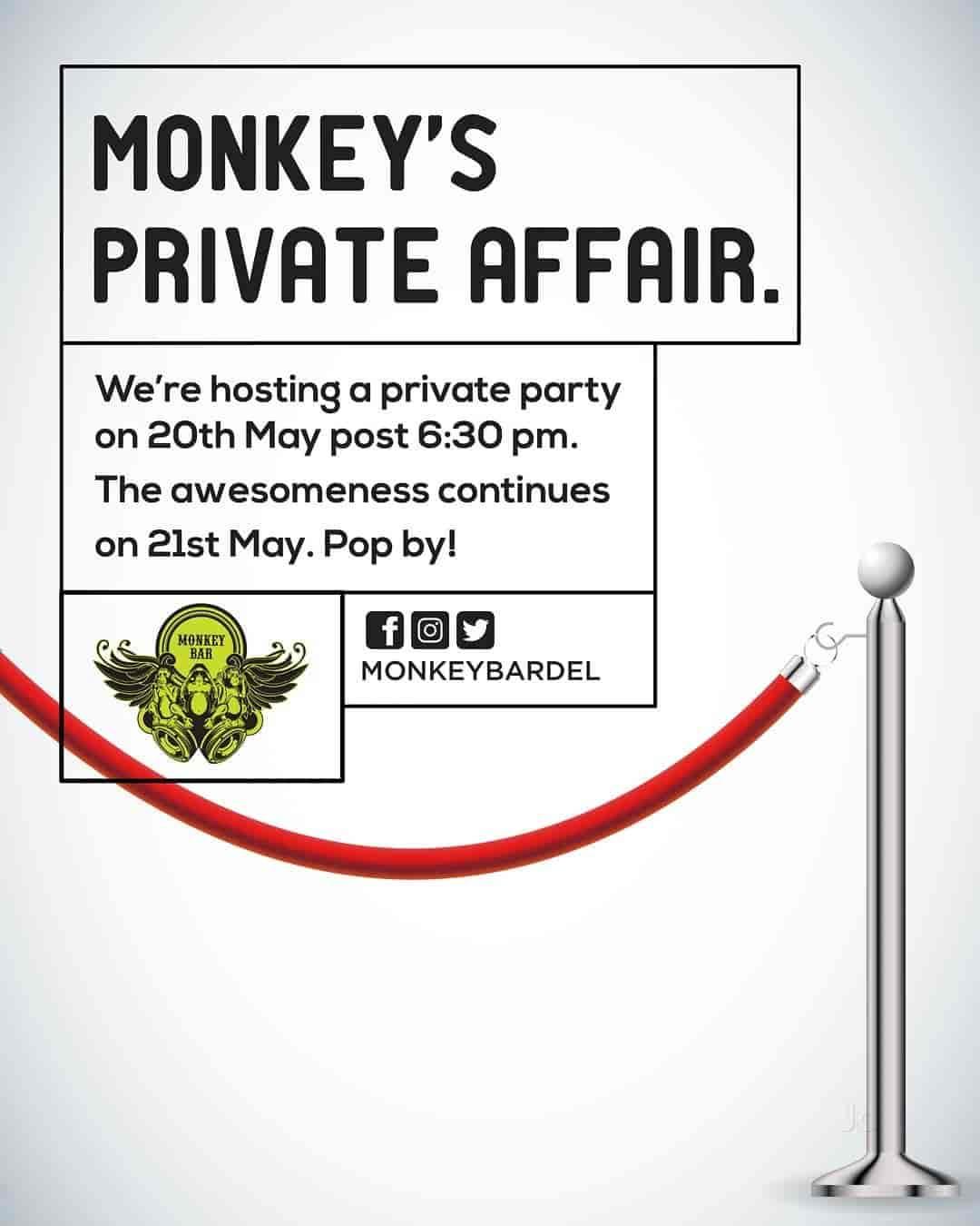Monkey Bar, Vasant Kunj, Delhi - American, European, Pan Asian