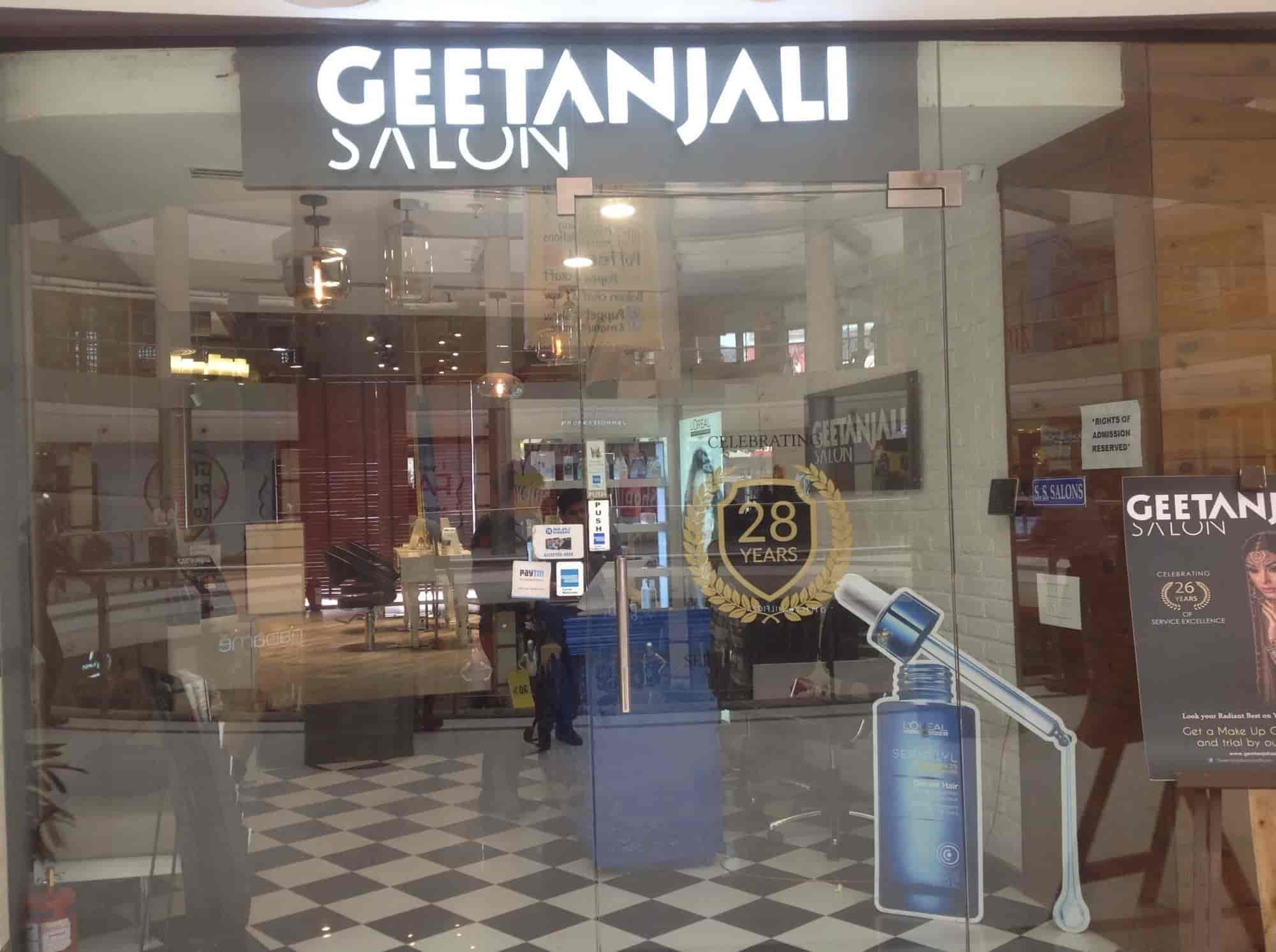 geetanjali salon photos, kamla nagar, delhi- pictures & images