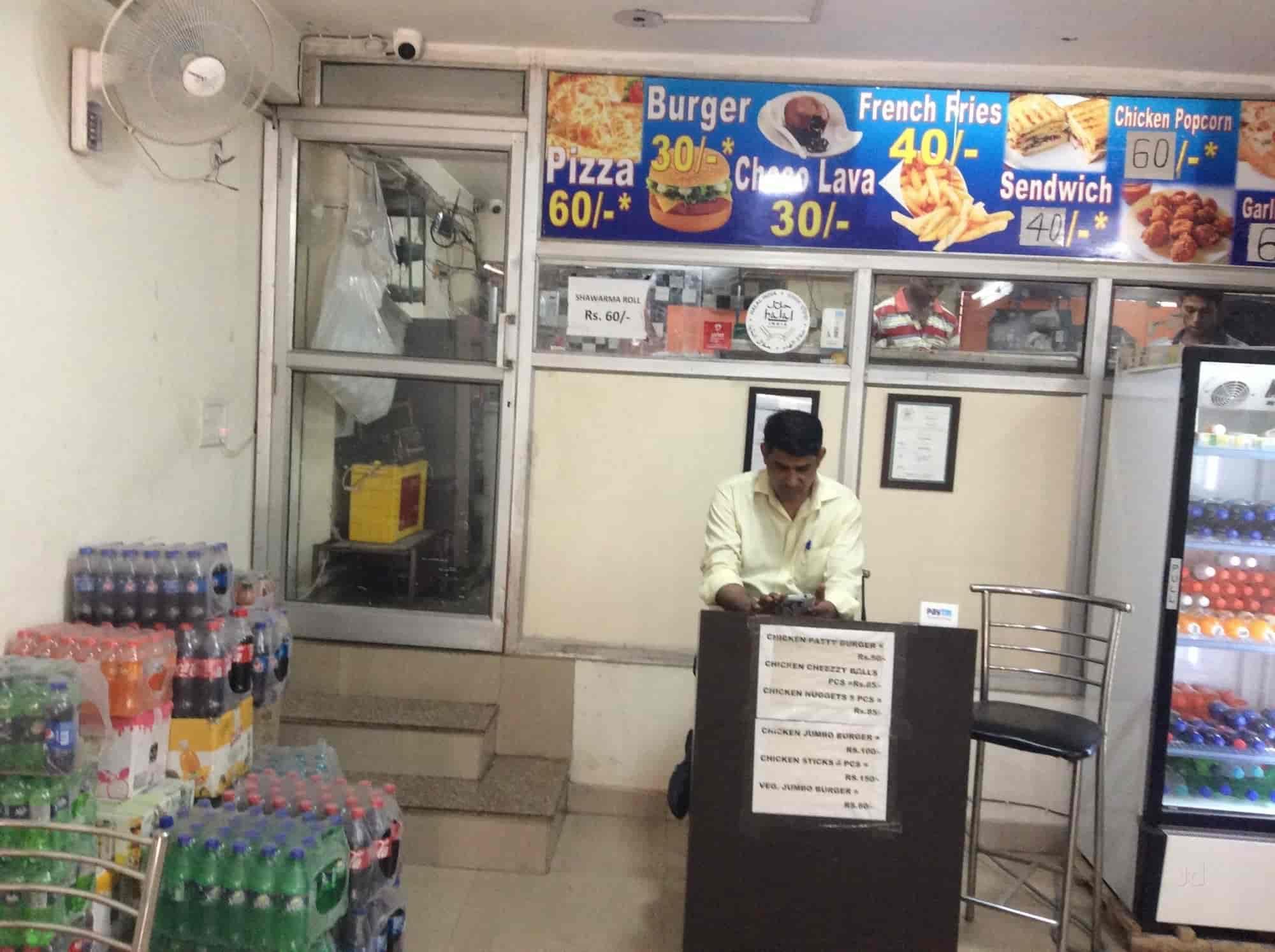 Halal Food 4 U Shaheen Bagh Jamia Nagar Delhi Italian Fast Food Rolls Cuisine Restaurant Justdial