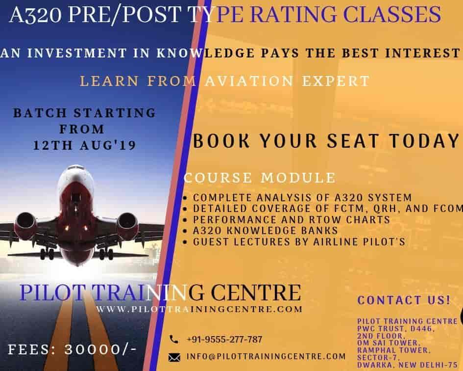 Pilot Training Center India, Dwarka Sector 7 - Institutes