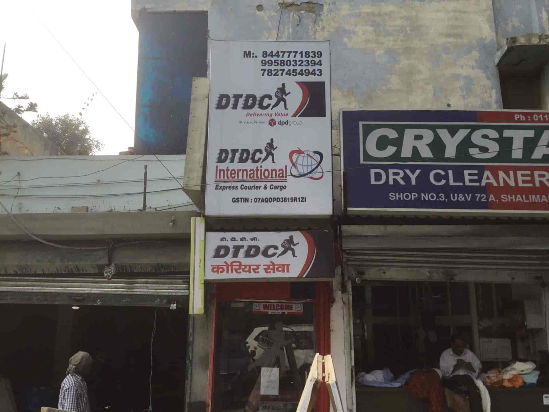 Dtdc Express Ltd Shalimar Bagh Courier Services In Delhi Justdial