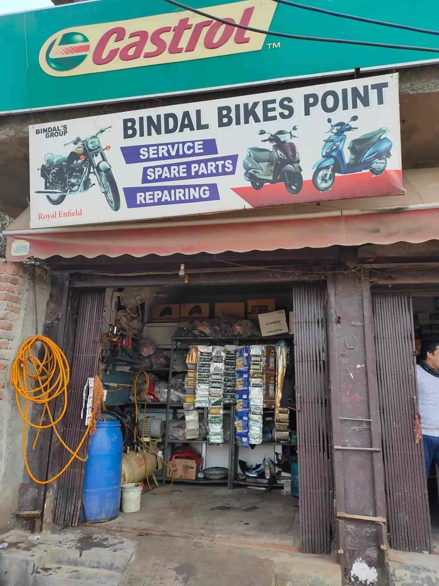 Bindal Bike Point Swaroop Nagar Motorcycle Part Dealers In