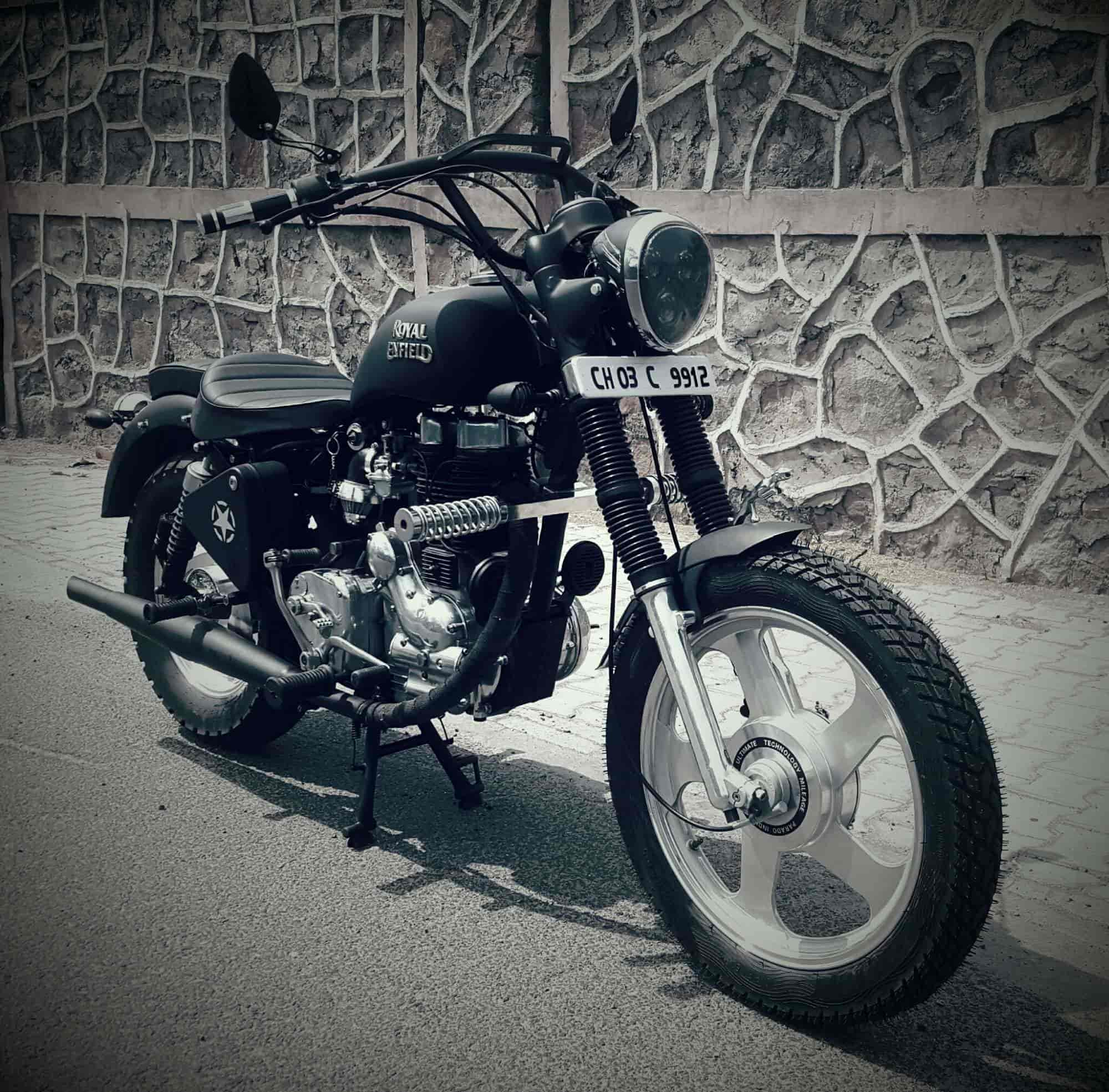 Bullet Bike Accessories In Bangalore : Ash Cycles