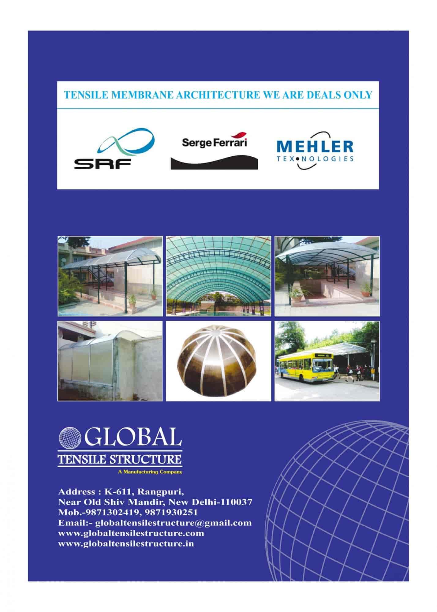 Global Tensile Structure, Mahipalpur - Tensile Structure