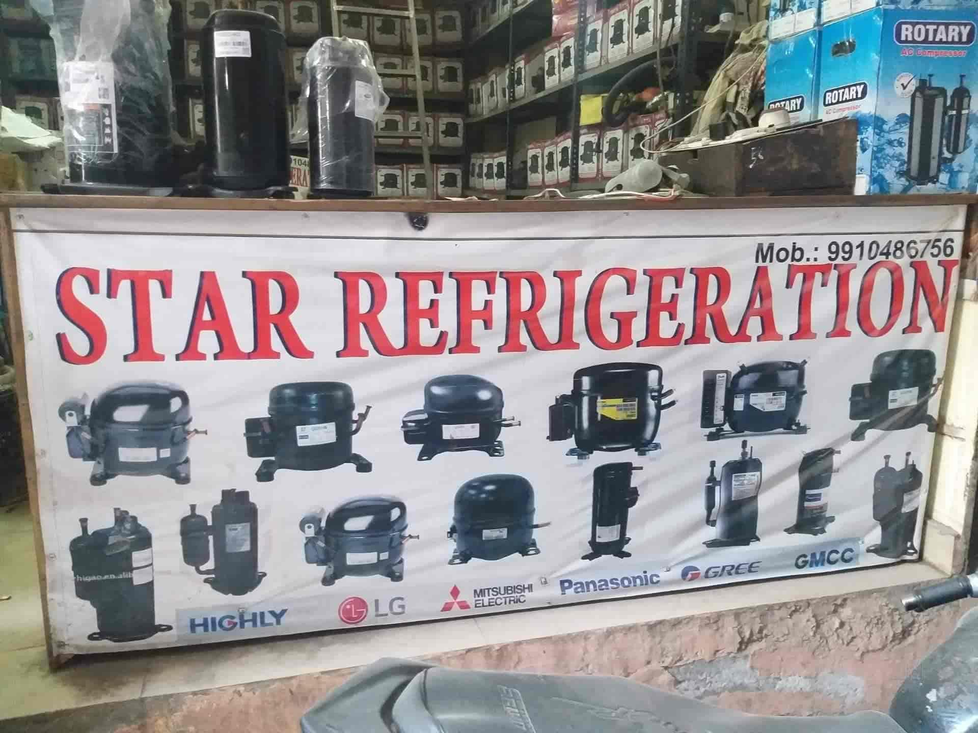 Star Refrigeration, Shaheen Bagh Jamia Nagar - AC Compressor