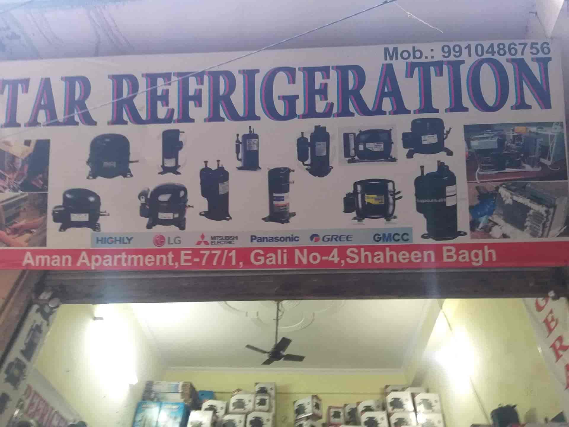 Star Refrigeration, Shaheen Bagh-Jamia Nagar - Compressor Dealers in