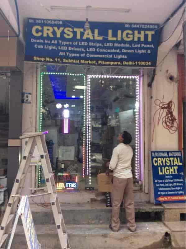 Crystal light photos pitampura delhi pictures images gallery front view of fancy light shop crystal light photos pitampura delhi lighting aloadofball Gallery