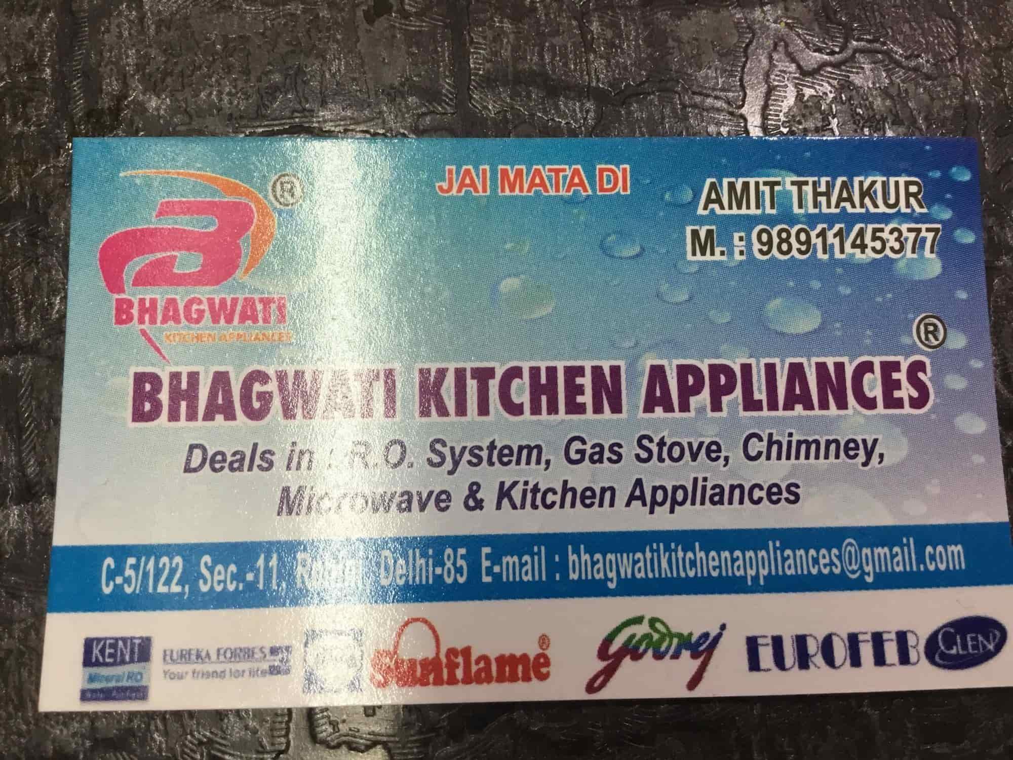 Bhagwati Kitchen Appliances, Rohini Sector 11 - Bhagvati Kitchen ...