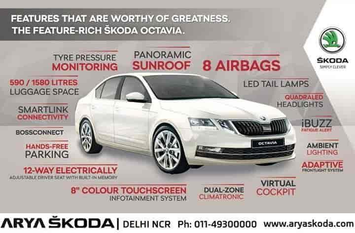 Arya Skoda, East Of Kailash - Car Dealers in Delhi - Justdial