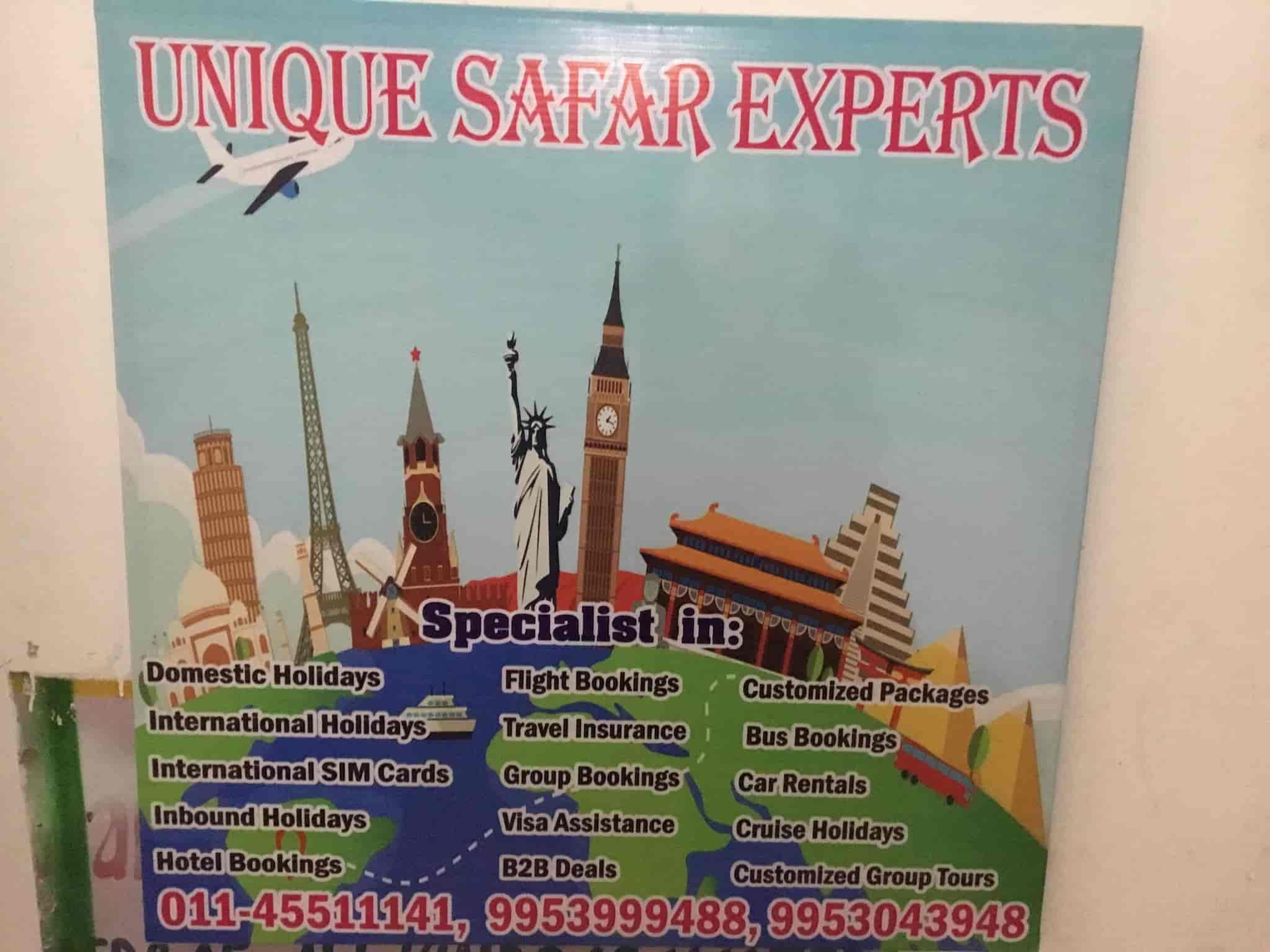 Unique Safar Experts, Dwarka Sector 12 - Travel Agents in Delhi