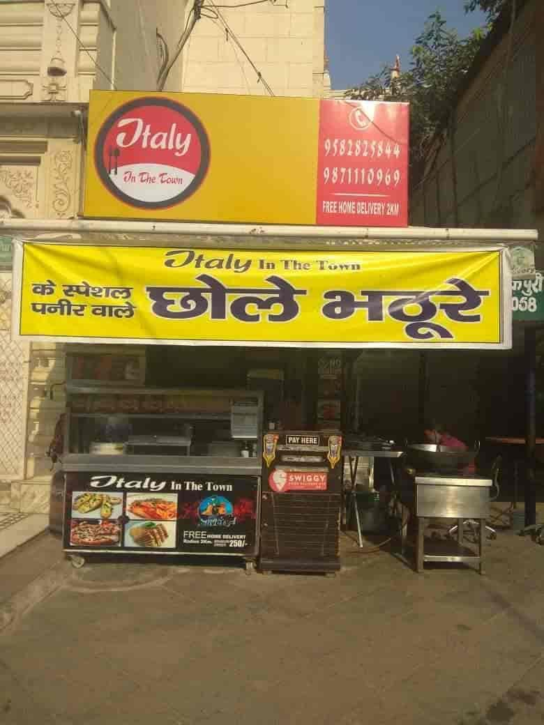 Italy In The Town, Janakpuri, Delhi - Fast Food, Italian