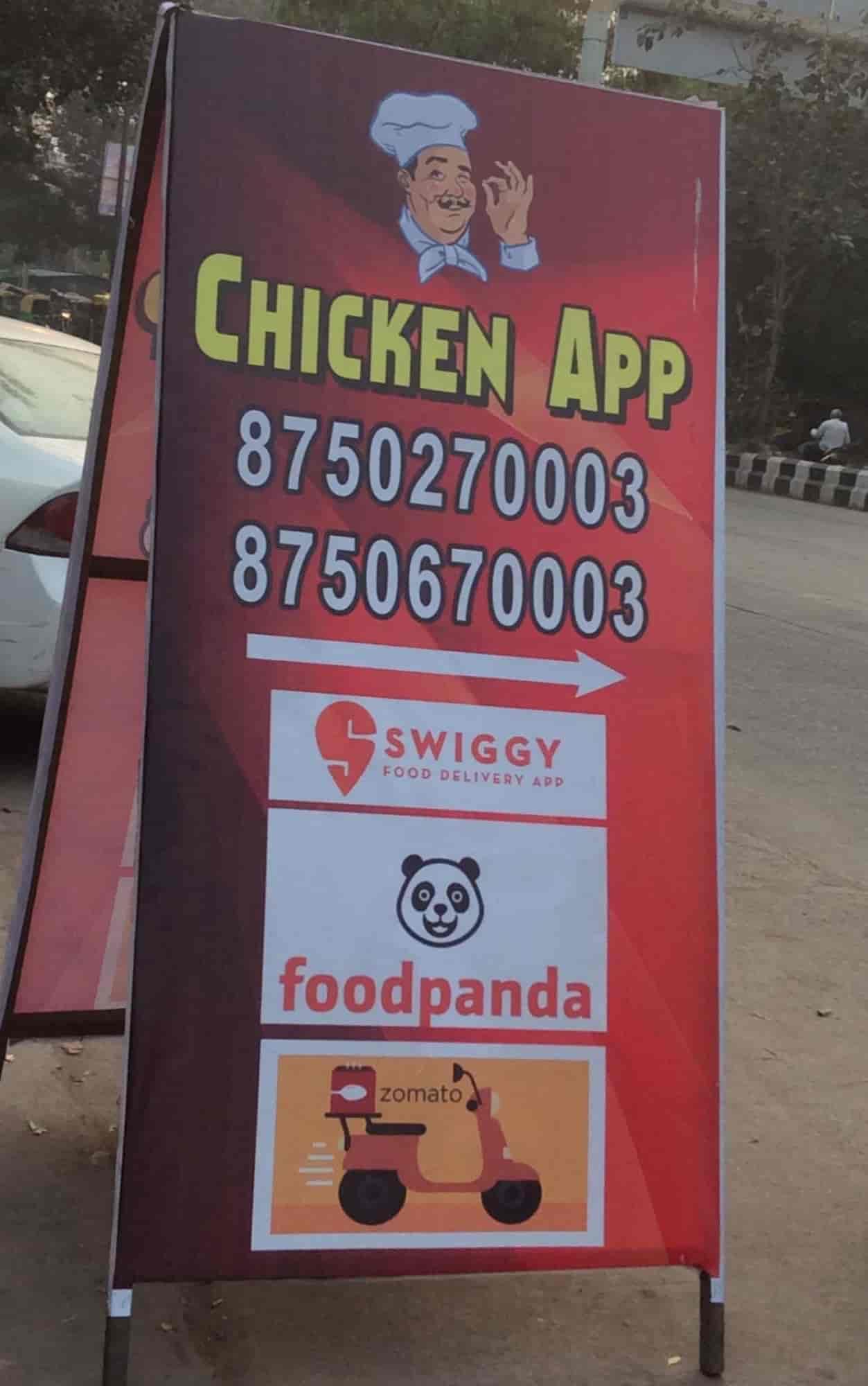 Chicken App, Gulabi Bagh, Delhi - North Indian Cuisine