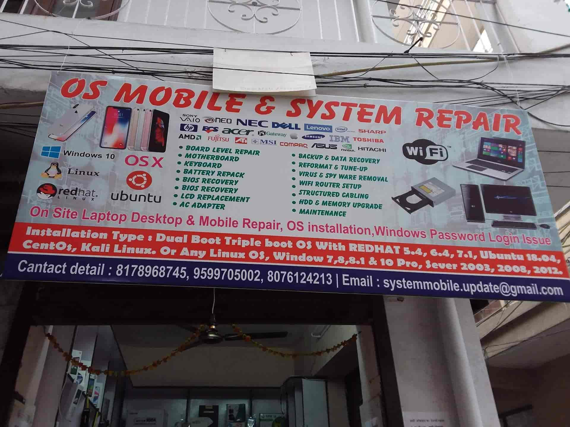 OS Mobile & System Repair, Uttam Nagar - Mobile Phone Repair