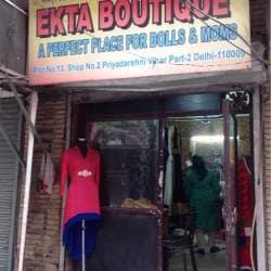 Ekta Boutique New Gupta Colony Boutiques In Delhi Justdial