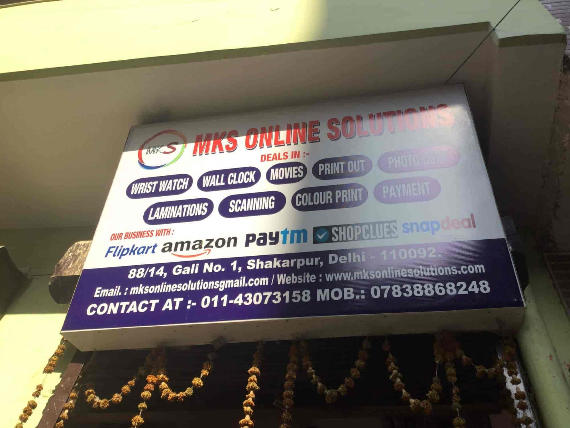 MKS Online Solution, Shakarpur - Online Shopping Websites in Delhi