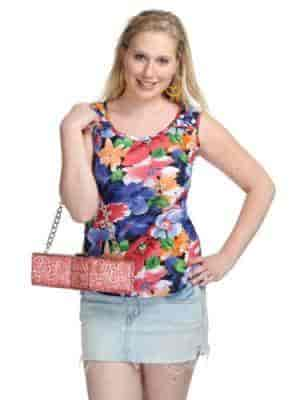 ... Summer Floral Top - Uptown Galeria Clothing Pvt Ltd Photos 2c34638ab