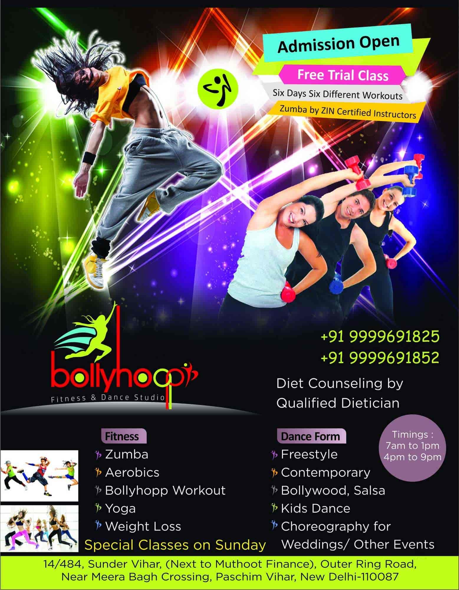 Bollyhopp Fitness DANCE Studio Photos Paschim Vihar Delhi