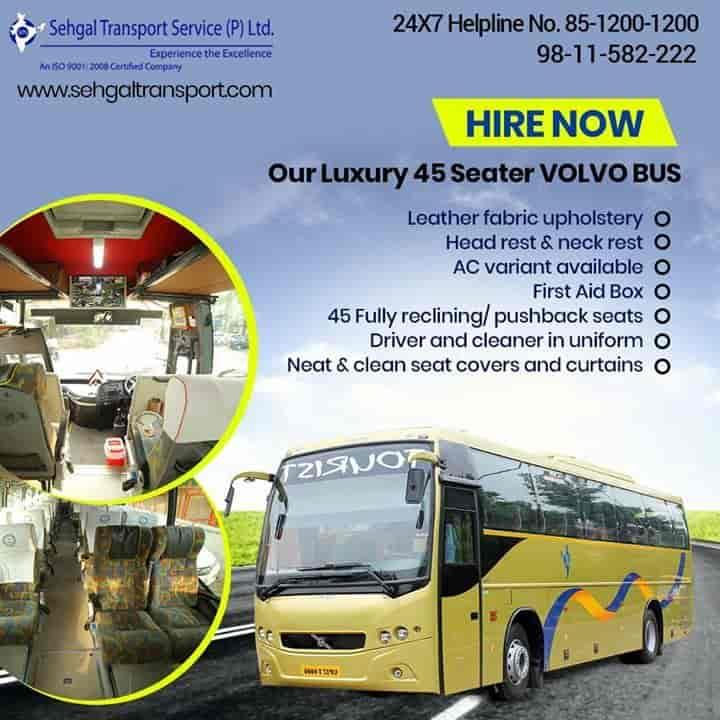 Sehgal Transport Service Pvt Ltd, Janakpuri - Bus On Hire