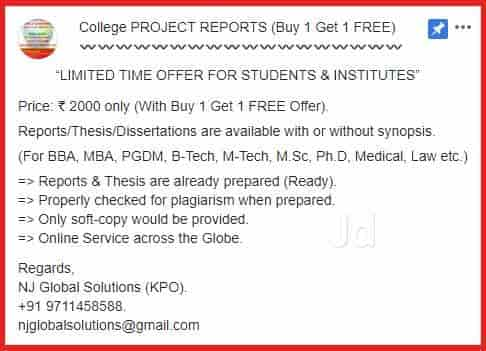 Project Report Thesis And Assignment Photos, Preet Vihar, Delhi