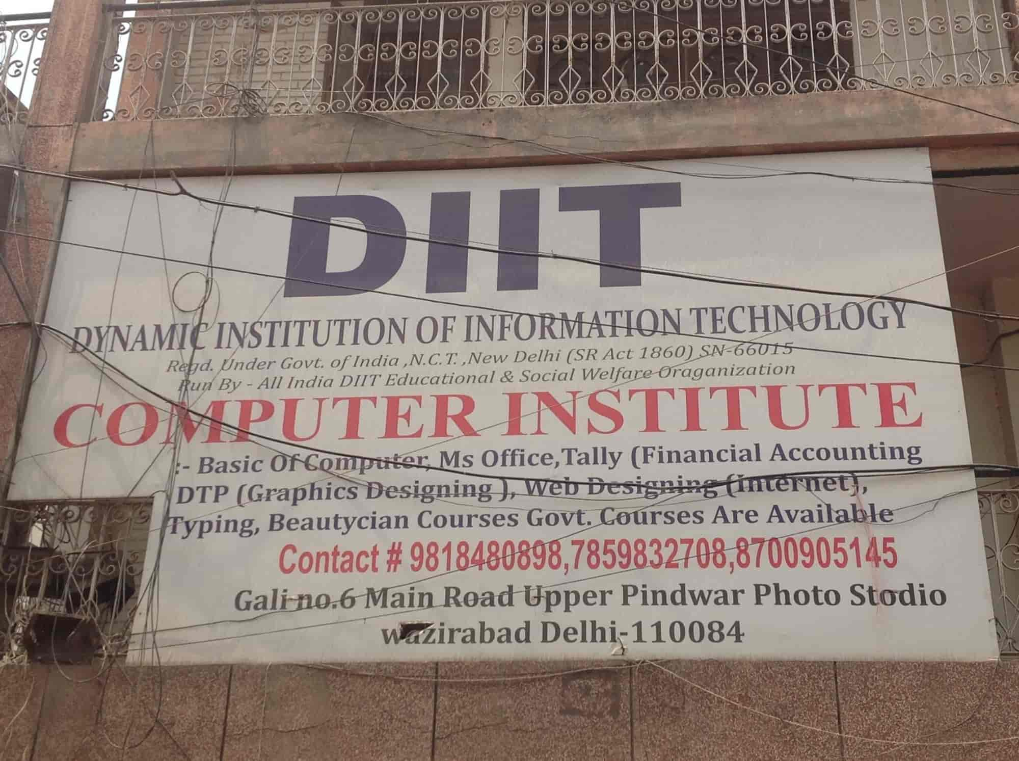 ... DIIT Computer Institute Photos, Wazirabad, Delhi   Language Classes For  English ...