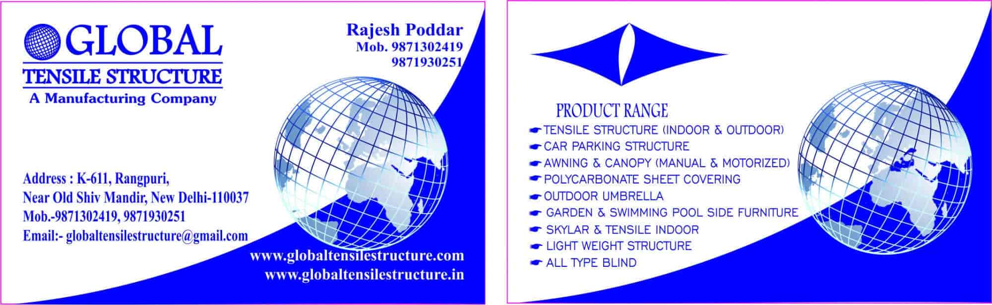 Global Tensile Structure, Mahipalpur - Roofing Shed