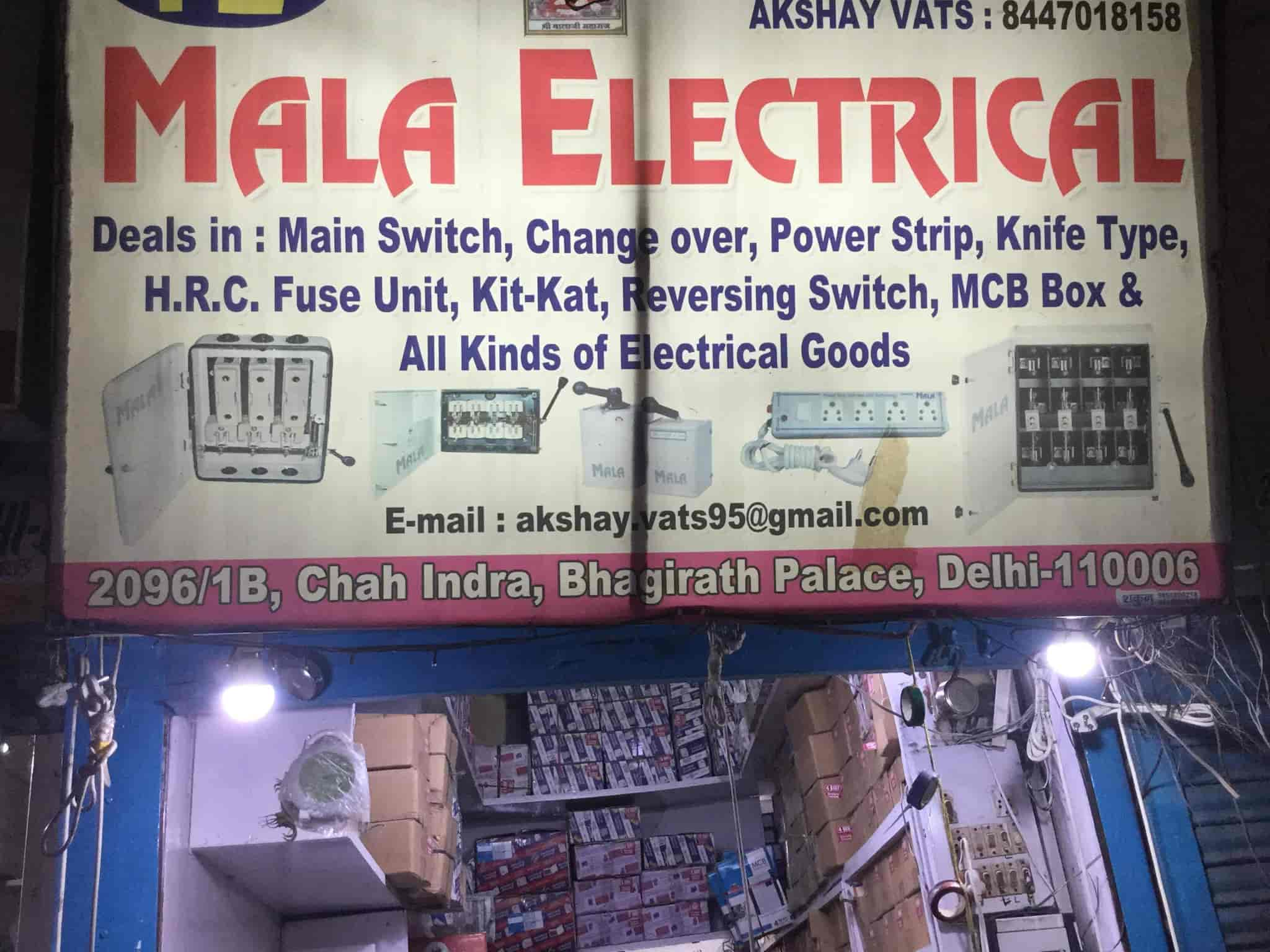 Mala Electrical Photos Chandni Chowk Delhi Pictures Images Knife Switch Fuse Box Mcb Manufacturers