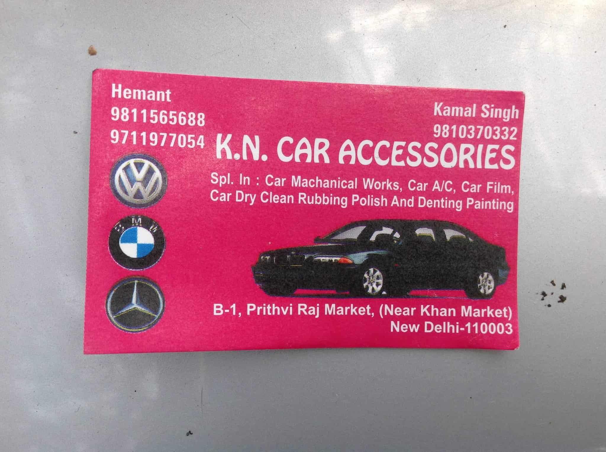 K N Car Accessories Prithviraj Market Car Repair Services In
