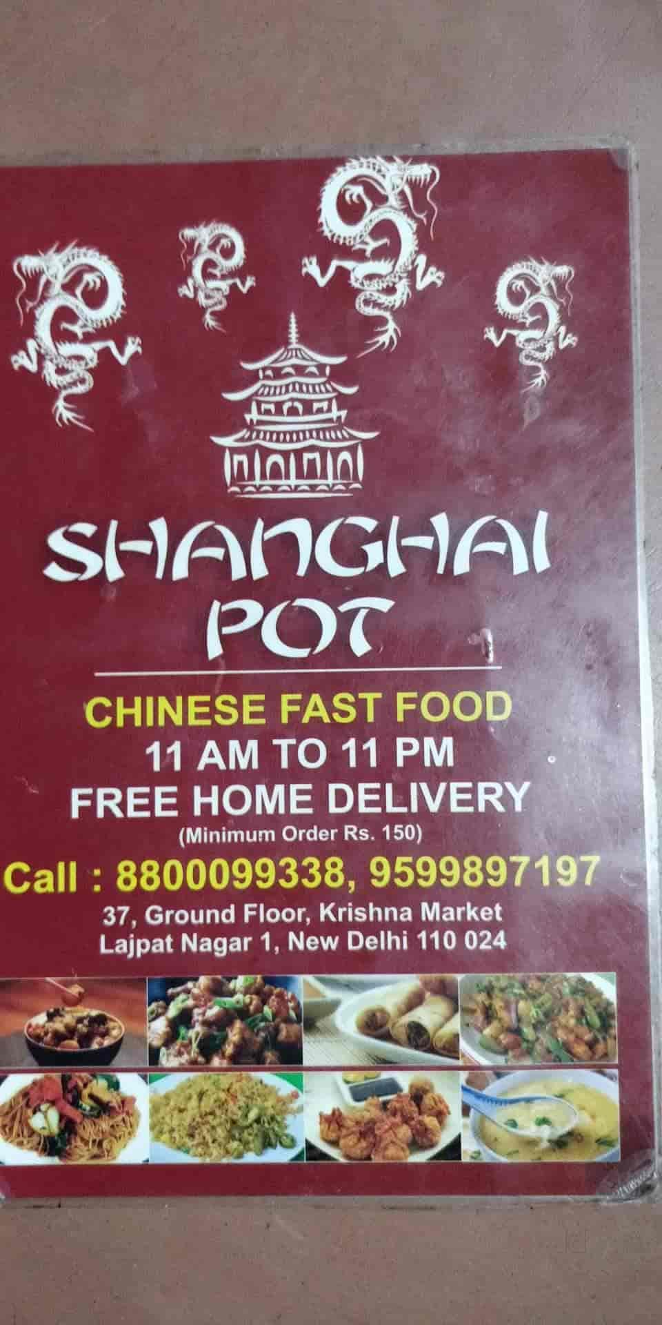 Shanghai Pott, Lajpat Nagar 1, Delhi - Chinese Cuisine Restaurant