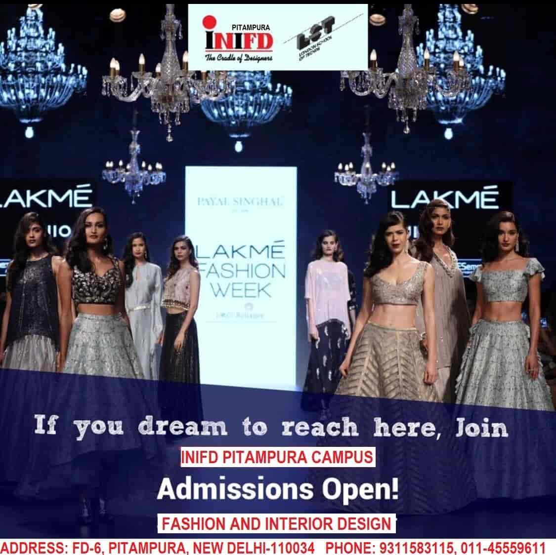 Inifd Pitampura Fashion Designing Institutes In Delhi Justdial