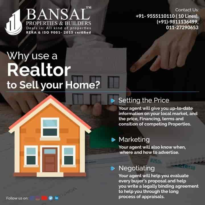 Bansal Properties And Builders, Rohini Sector 15 - Estate Agents For