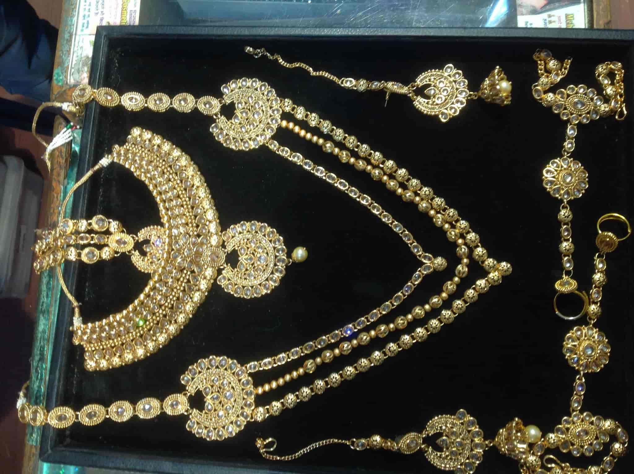 cb95eadc6 ... Bridal Jewellery - Mehak Cosmetics   Artificial Jewellery Shop Photos