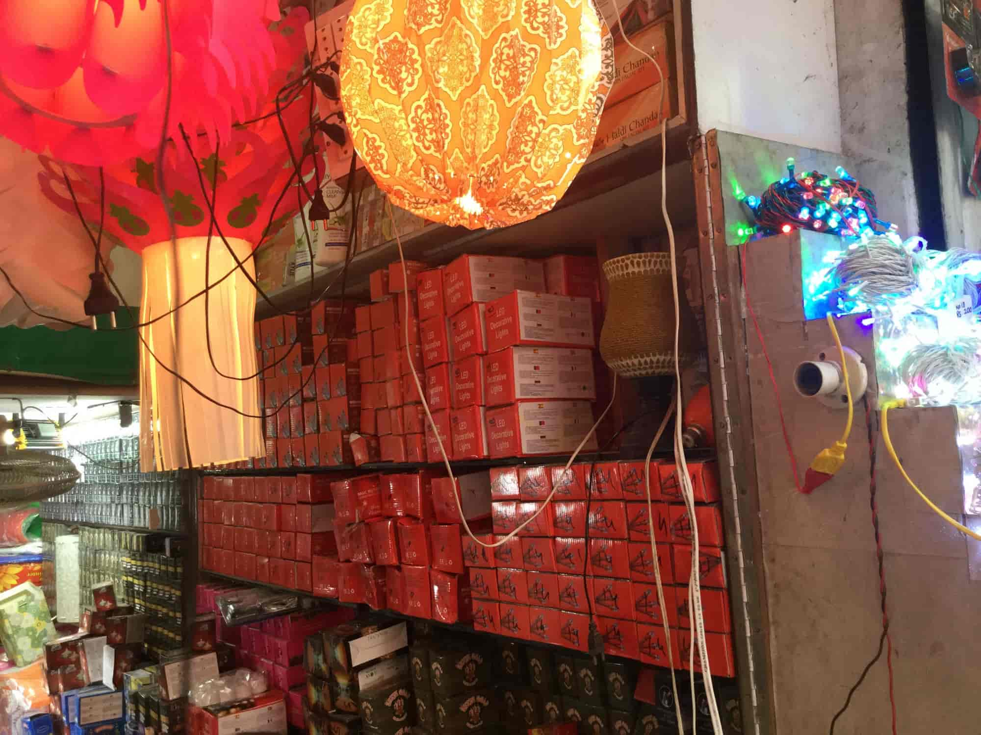 Inside View Of Shop A R Cosmetic Decoration Lamps Photos Sadar Bazar Delhi
