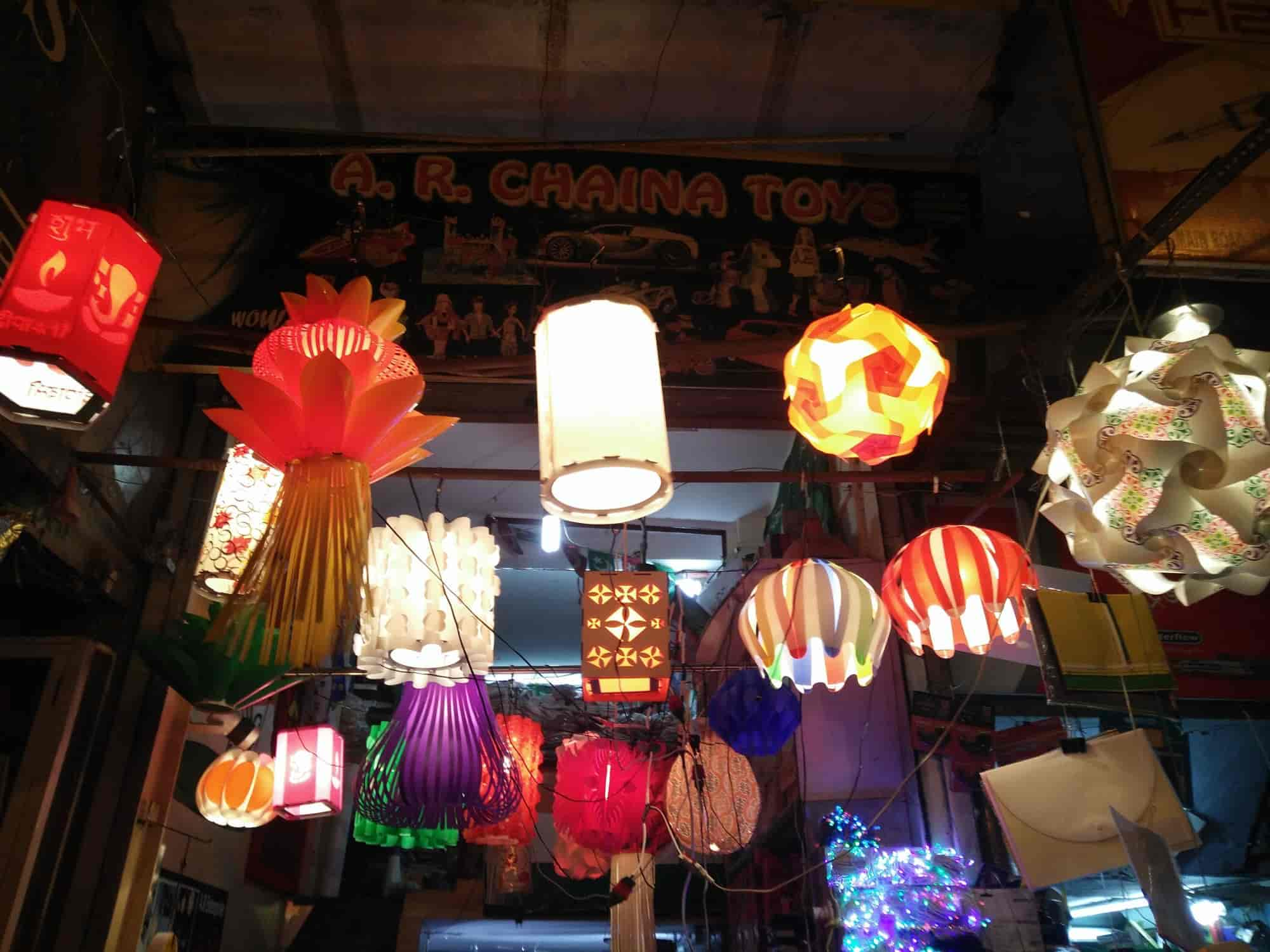 A R Cosmetic Decoration Lamps Sadar Bazar A R China Toys Lamps Cosmetic Wholesalers In Delhi Justdial
