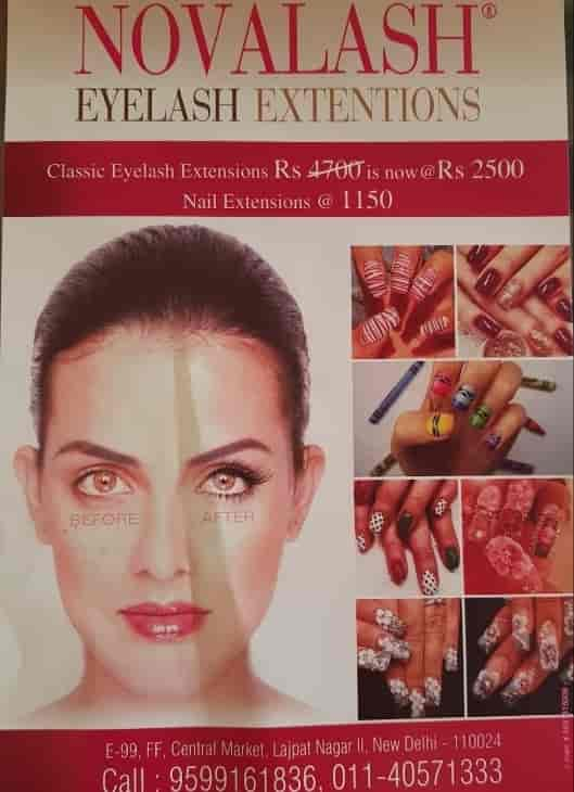 e3bfe4fd3a3 Novalash Signature Studio, Lajpat Nagar 2 - Eyelash Extension Services in  Delhi - Justdial