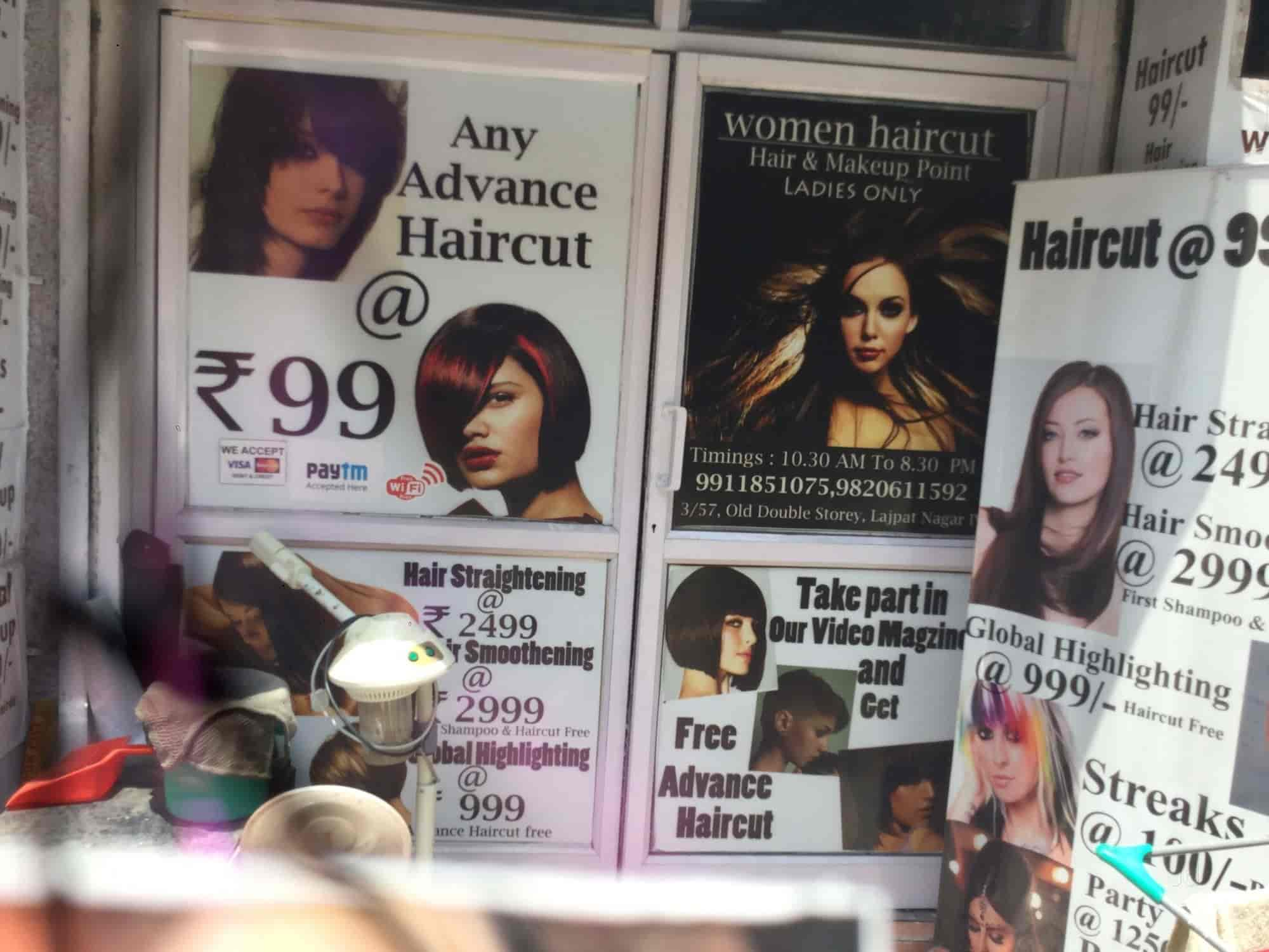 women haircut, lajpat nagar 4 - beauty parlours in delhi - justdial
