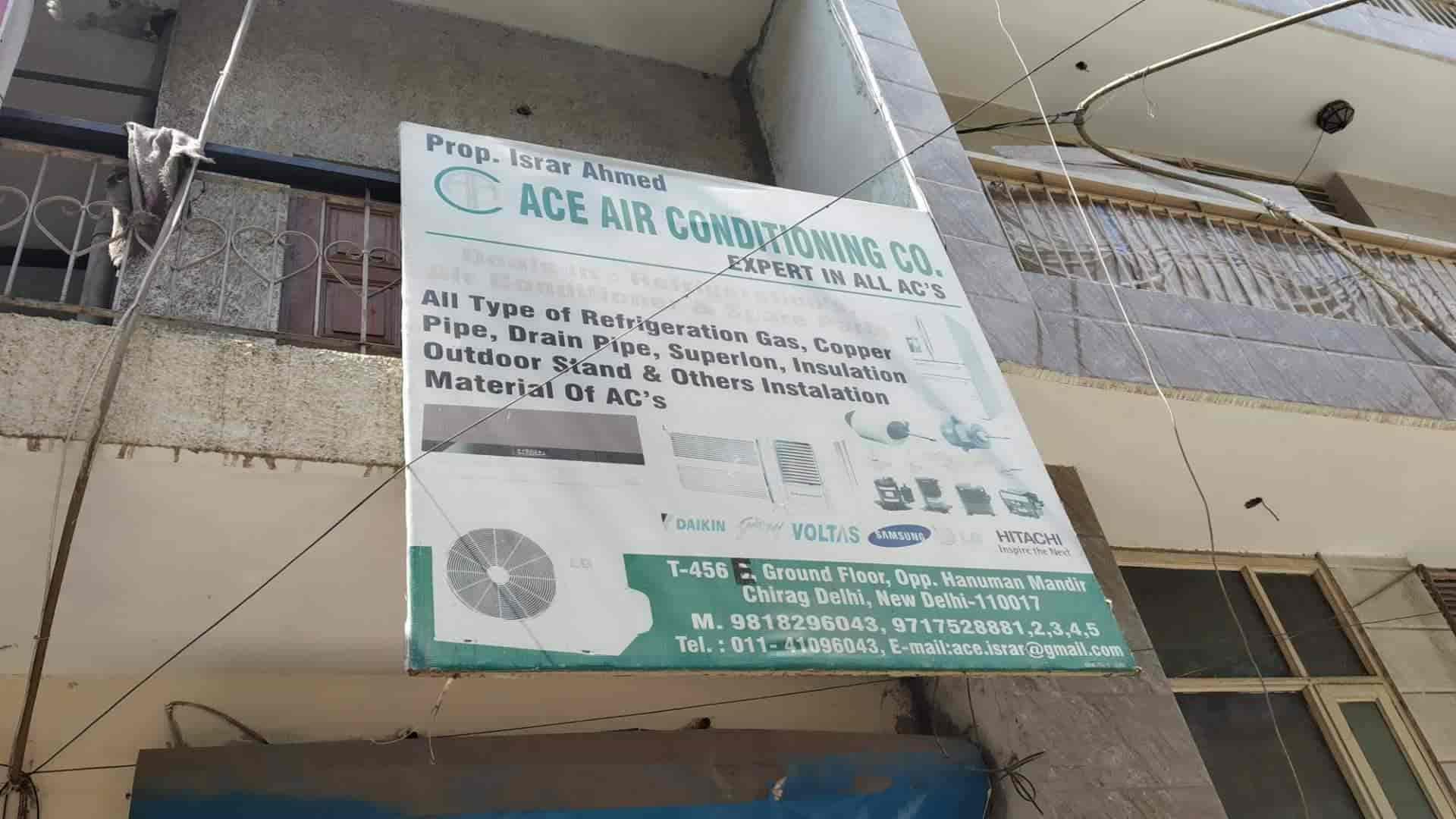 Ace AIR Conditioning Company Photos, Joga Bai Extension