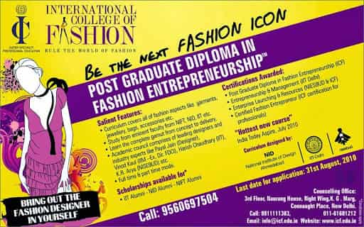 International College Of Fashion Ito Placement Services Candidate In Delhi Justdial
