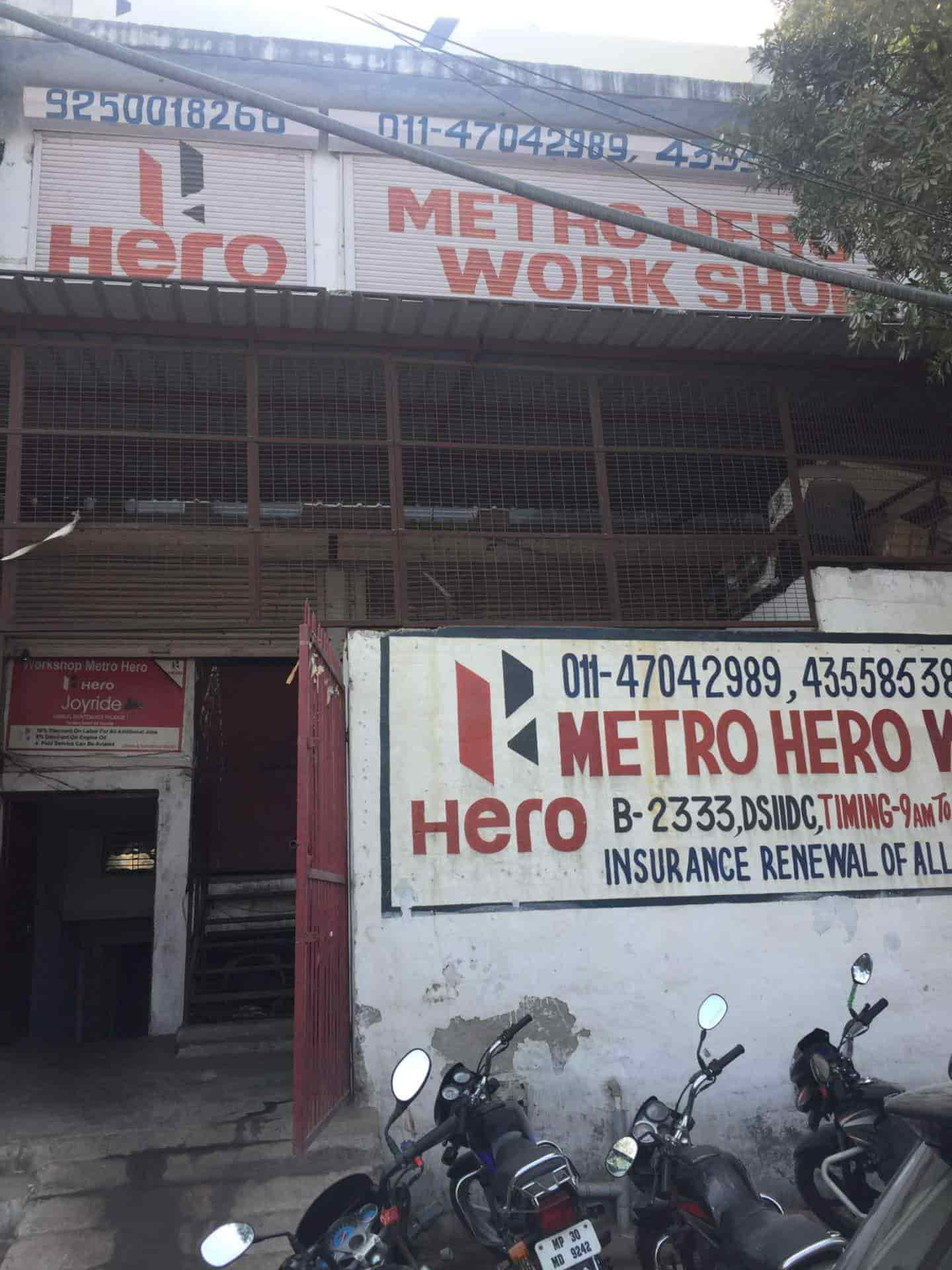 Metro Agencies, Bawana - Motorcycle Dealers-Hero in Delhi - Justdial